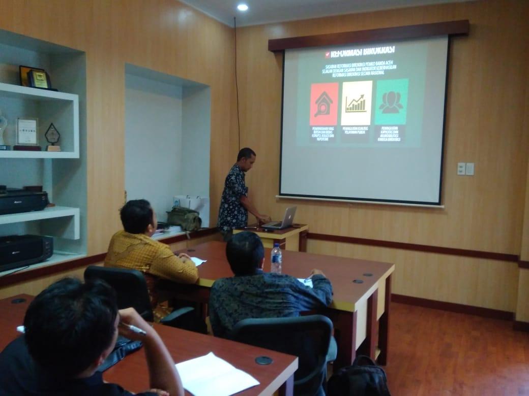 Belajar Aplikasi E Kinerja Ke Pemko Banda Aceh Ferdi Nazirun Sijabat